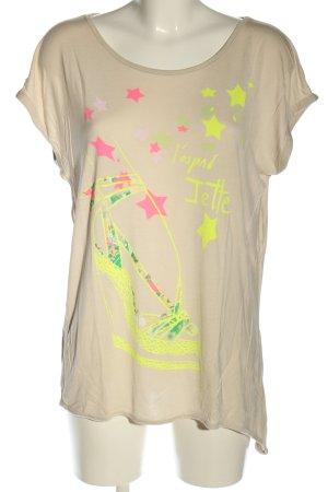 Jette T-Shirt Motivdruck Casual-Look
