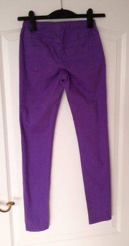 jetzt zugreifen!tolle lila Jeans- Leggings/Hose im Jeansimitatstil,Gr.S