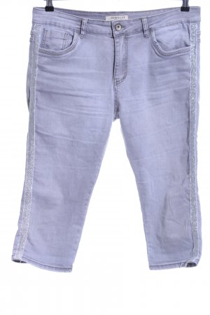 3/4-jeans lila casual uitstraling
