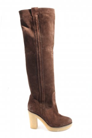 JFK High Heel Boots brown casual look