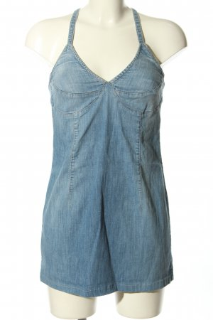 Jiggy Jeansbluse blau Casual-Look