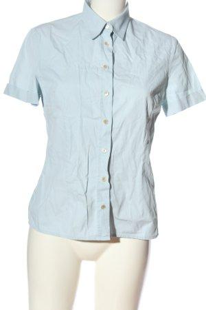 JIGSAW Camicia a maniche corte blu stile professionale