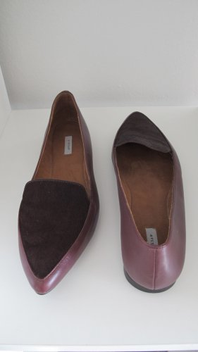 Jigsaw Loafer burgundy red Gr. 40 NEU