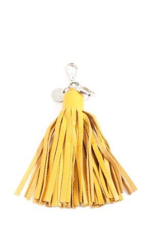 JIGSAW Porte-clés jaune primevère style décontracté