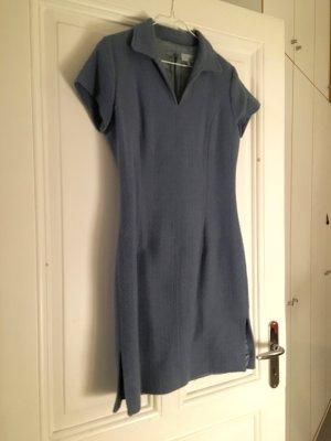 JIGSAW Robe en laine bleu acier laine