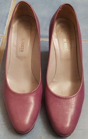 Jil Rocco Chaussure à talons carrés violet cuir