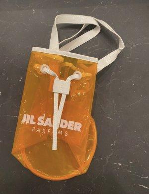 Jil Sander Bolso tipo marsupio naranja neón-blanco