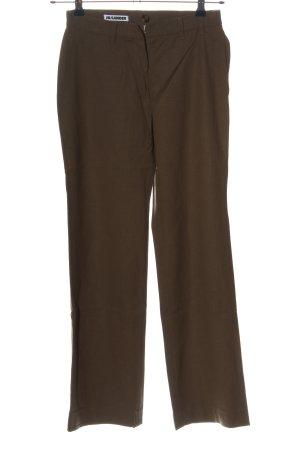 Jil Sander Pantalon «Baggy» brun style décontracté