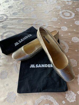 Jil Sander Ballerina a punta oro