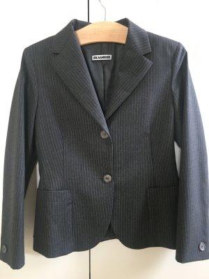 Jil Sander Blazer in lana grigio scuro Lana