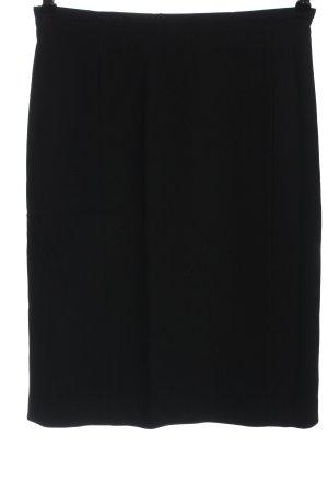 Jil Sander Falda de tubo negro look casual