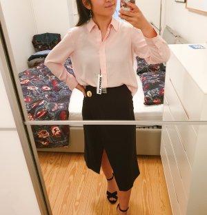 Jil Sander Bluse neu mit Etikett 100% Seide rosa Designer