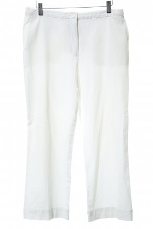 Jil Sander Spodnie Capri biały W stylu casual