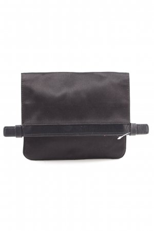 Jil Sander Clutch schwarz Business-Look