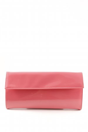 Jil Sander Clutch pink Lack-Optik