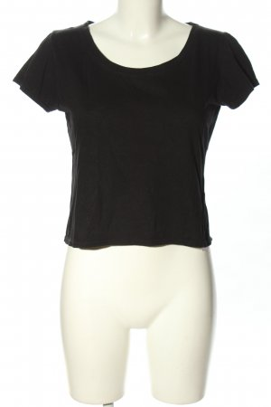 Jil Sander Cropped Shirt schwarz Casual-Look