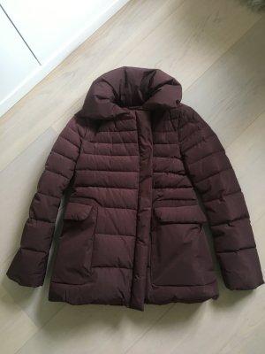 Jil Sander Down Jacket brown mixture fibre