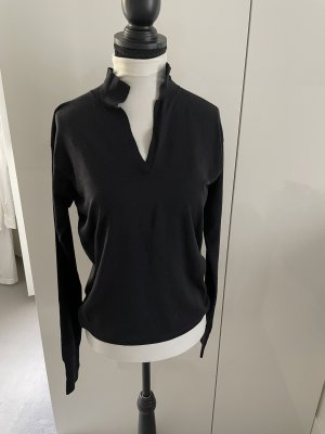 Jil Sander Jersey de lana azul oscuro