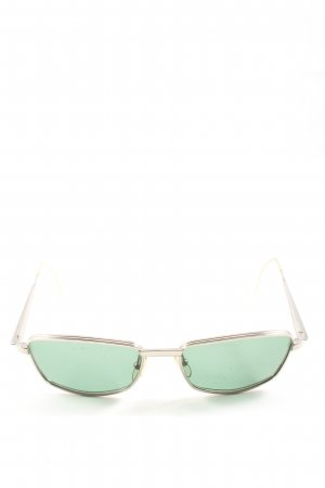Jil Sander Angular Shaped Sunglasses silver-colored casual look