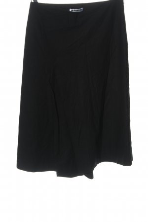 Jil Sander Rozkloszowana spódnica czarny W stylu casual