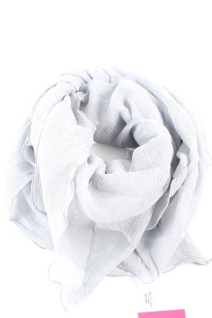 Jil Sander Fazzoletto da collo grigio chiaro stile casual