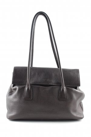 Jil Sander Henkeltasche braun Business-Look