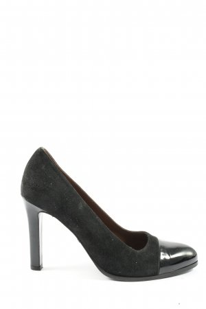 Jil Sander High Heels schwarz Business-Look
