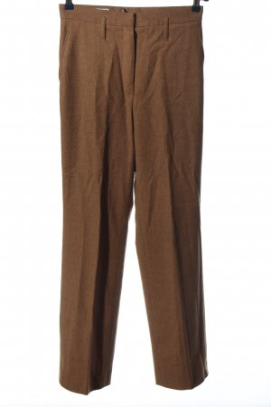 Jil Sander High-Waist Hose braun Business-Look