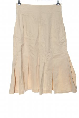 Jil Sander High Waist Rock creme Casual-Look