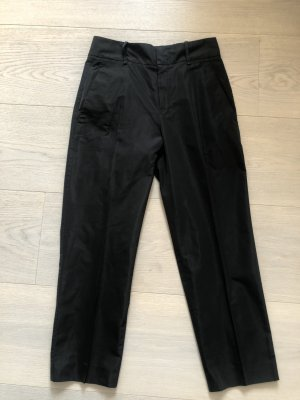 Jil Sander 7/8 Length Trousers black brown mixture fibre