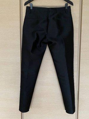 Jil Sander Woolen Trousers black