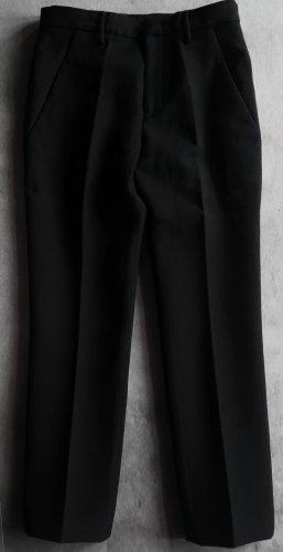 Jil Sander Wełniane spodnie czarny Wełna