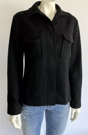 Jil Sander Jacke Gr. 36 schwarz Wolle