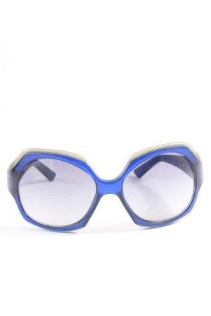 Jil Sander Vierkante bril room-blauw casual uitstraling