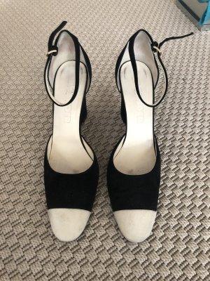 Jil Sander Zapatos Mary Jane crema-negro