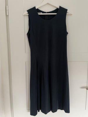 Jil Sander Vestido de Verano azul oscuro