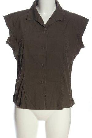 Jil Sander Koszula z krótkim rękawem brązowy W stylu casual