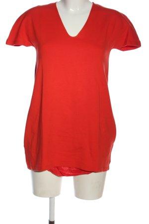 Jil Sander Długa koszulka czerwony W stylu casual