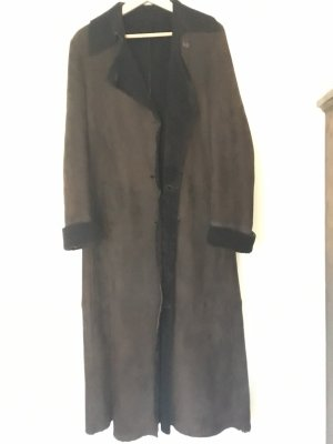 Jil Sander Leather Coat brown