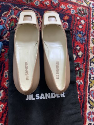 Jil sander leather shoes