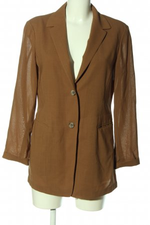 Jil Sander Long-Blazer braun Casual-Look