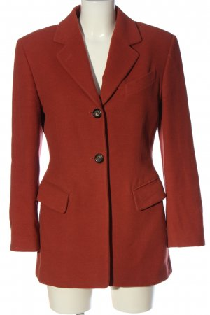 Jil Sander Long-Blazer rot Business-Look