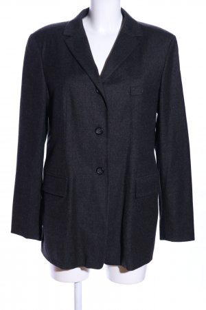 Jil Sander Long-Blazer schwarz Business-Look