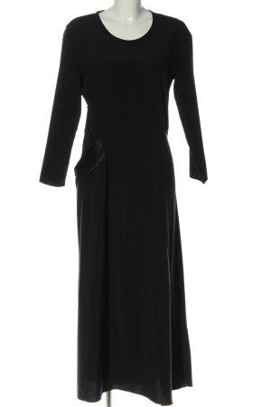 Jil Sander Maxi abito nero stile casual
