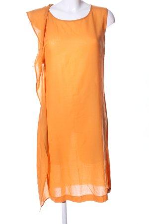 Jil Sander Abito midi arancione chiaro stile casual