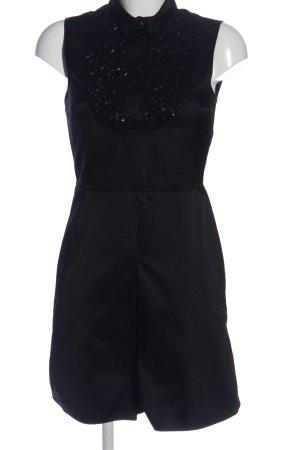 Jil Sander Minikleid schwarz Elegant