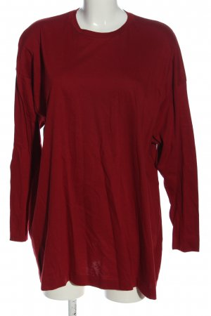 Jil Sander Oversized Shirt rot Casual-Look