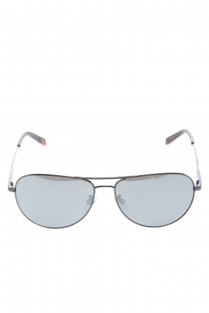 Jil Sander Pilotenbril zwart casual uitstraling