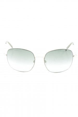 Jil Sander Aviator Glasses gold-colored-dark green casual look