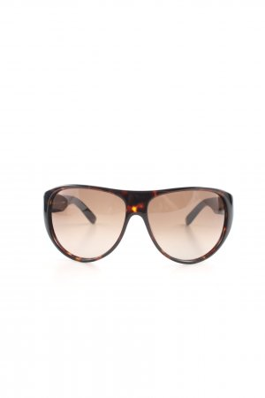 Jil Sander Retro Glasses brown-bronze-colored casual look